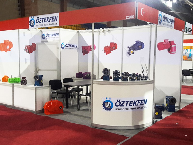 We were in The 8th International Exhibition for Machinery, Machine Tools Metalworking an Automation